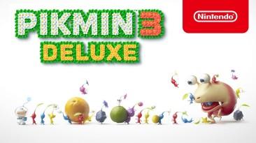 Изучаем пикминов в новом трейлере Pikmin 3 Deluxe для Nintendo Switch