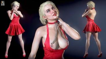 """Resident Evil 3 """"Джилл в красном платье"""""""