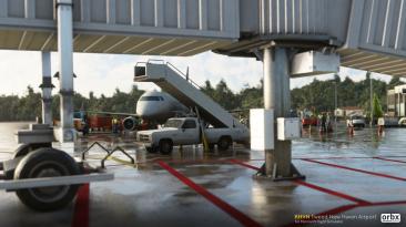 Orbx выпустила надстройку аэропорта Туид Нью Хейвен для Microsoft Flight Simulator