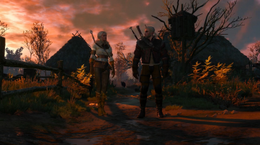 """The Witcher 3 """"Задание по воссоединению Геральта и Цири"""""""