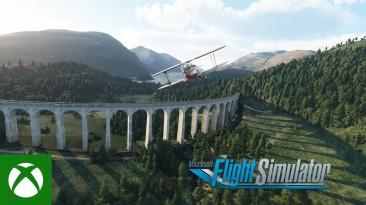 Доступно обновление мира Microsoft Flight Simulator с Великобританией и Ирландией