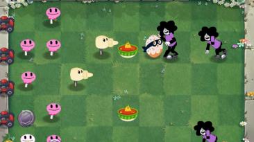 "Plants vs. Zombies ""Мод Еда против Мультиков"""