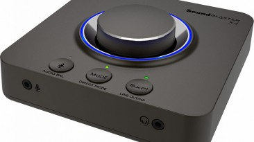Представлена звуковая карта Sound Blaster X4