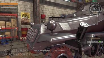 Трейлер игрового процесса Tank Mechanic Simulator на консолях