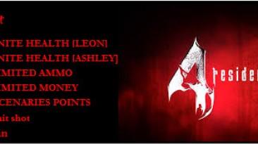 Resident Evil 4 HD: Трейнер/Trainer (+6) [v1.0-1.6] {Moccasin}