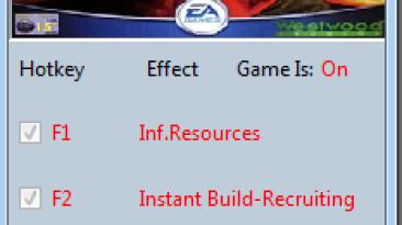 Command & Conquer ~ Red Alert 2: Трейнер/Trainer (+3) [1.06] {MrAntiFun}