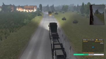 Euro Truck Simulator 2 Multiplayer Карта ProMods Скрытая дорога