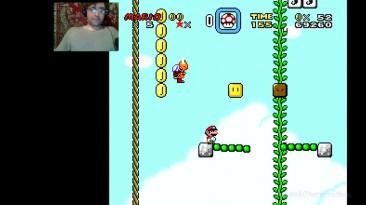 Super Mario World - Alex Danison 888 Episode - Отпусти меня игра.... (прохождение на русском)