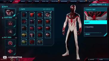 """Spider-Man: Web of Shadows """"T.R.A.C.K Костюм Майлз Моралес"""""""