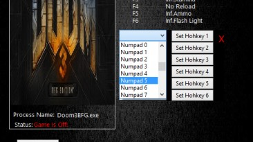 Doom 3 BFG Edition: Трейнер/Trainer (+6) [1.0.34] {MrAntiFun}