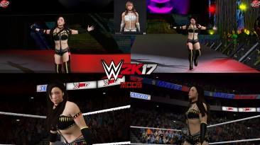 "WWE 2K17 ""Kairi Sane Warrior Наряд (Лицевая анимация) WWE 2K19 Порт Мод"""