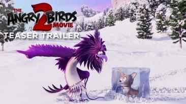 """Дебютный тизер-трейлер мультфильма """"Angry Birds в кино 2"""""""