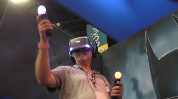 Отрывки геймплея и восторженные фанаты в трейлере Batman: Arkham VR