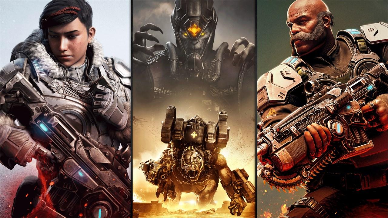 В Steam началась распродажа серии Gears of War