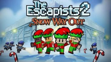 Для The Escapists 2 вышло бесплатное зимнее обновление Snow Way Out