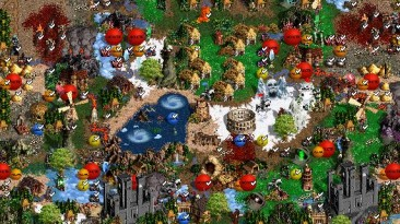 "Heroes of Might and Magic 3 ""Карта для мода MoP, Heroes of Might and Magic III: Master of Puppets"" v.9.0"
