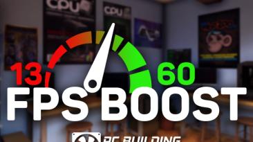 """PC Building Simulator """"Мод для поднятия фпс + Мгновенный 3D Mark [1.6.1] {Sceef}"""""""