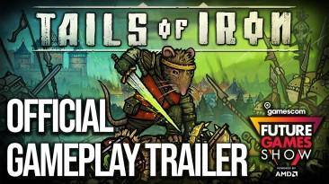 Новый трейлер рисованной ролевой игры Tails of Iron с Gamescom 2021