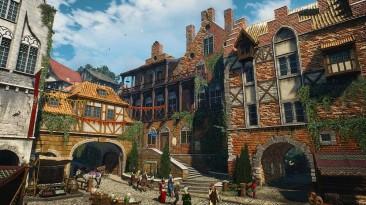Новиград в новом видео модификации HD Reworked Project NextGen для The Witcher 3