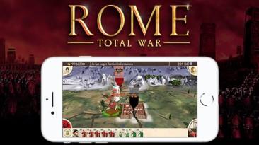 Игра ROME: Total War вышла на iPhone