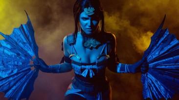 Косплей Китану из Mortal Kombat X
