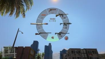 """Grand Theft Auto 5 """"Цветные 3D иконки с оружием и радио"""""""