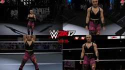 "WWE 2K17 ""Rhea Ripley '21 Наряд (Лицевая анимация) WWE 2K19 Порт Мод"""