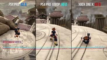 Технический анализ и сравнение Kingdom Hearts 3 от Digital Foundry