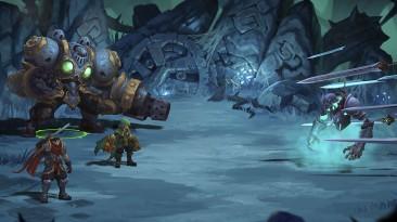 Великолепное анимационное интро к Battle Chasers: Nightwar