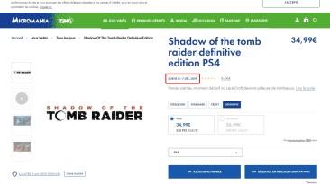 Слух: Shadow of the Tomb Raider: Definitive Edition- появилась дата релиза