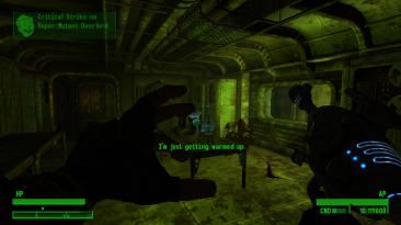 """Fallout NV / Fallout 3 """"Интерфейс из Fallout 4"""""""