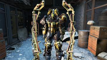 "Fallout 4 ""Лошадиная силовая броня"""