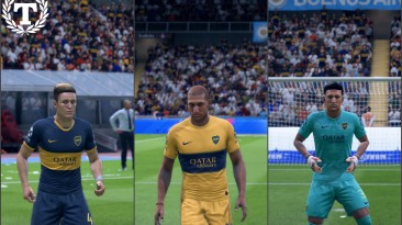 "FIFA 19 ""Boca Juniors kits 19-20"""