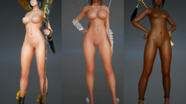 "Black Desert Online ""Nude Mod"""