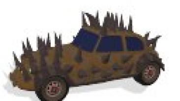 """Spore """"Пак машин из фильма """"Безумный макс"""""""