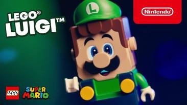 Nintendo анонсировала новый набор конструктора LEGO Super Mario с Луиджи