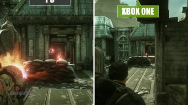 """Gears of War - Ultimate Edition """"Сравнение графики PC vs. Xbox One"""""""