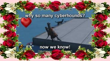 Почему в space engineers так много кибер-гончих.