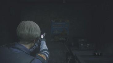 """Resident Evil 2 """"Правильное прицеливание на M19"""""""