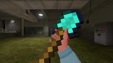 "Team Fortress 2 ""Лопата из Minecraft (Солдат)"""