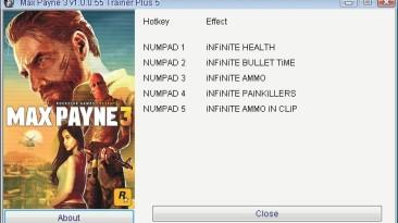 Max Payne 3: Трейнер/Trainer (+5) [1.0.0.55] {GRIZZLY/PlayGround.ru}