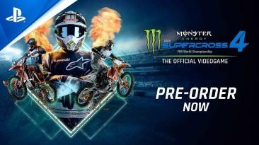 Студия Milestone анонсировала Monster Energy Supercross 4