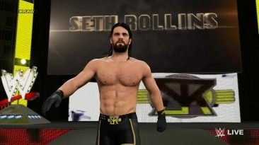 "WWE 2K15 ""Выходы бойцов John Cena And Seth Rolins"