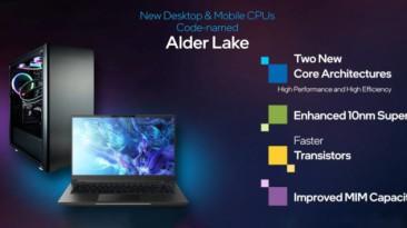 Среди новейших мобильных процессоров Intel будут очень горячие модели? Подробности о классах CPU Alder Lake