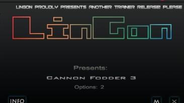 Cannon Fodder 3: Трейнер/Trainer (+2) [1.0: STEAM] {LinGon}