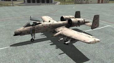 "DCS World ""A-10C Warthog: Пустынный камуфляж"""