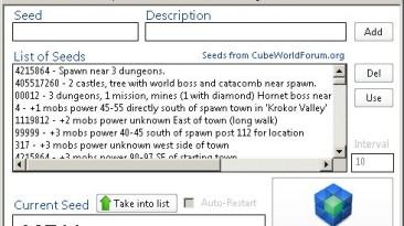 Cube World лаунчер PLUS