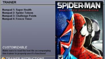 Spider Man - Shattered Dimensions: Трейнер (+4) [1.0] {CheatHappens}