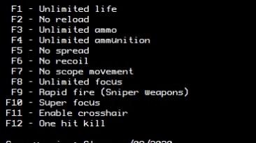 Sniper Elite V2: Трейнер/Trainer (+12) [Steam] {LIRW / GHL}