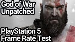 God of War работает на PlayStation 5 в 4K и 60 FPS - но только если не устанавливать патчи